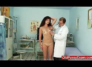 Redhead milf cookie checkup at kinky hospital