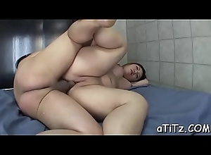 Hot japanese with chunky hooters plays with a vibrator