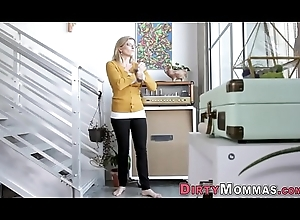 Stepmom and legal age teenager jizzed