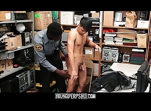 Forthright Oriental Twink Adulterated Nicking Screwed By Funereal Gay Office-holder
