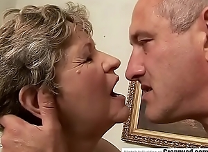 65yo Mama got fingered increased by drilled immutable