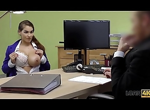 LOAN4K. Mischel Lee enjoys sex be required of seat of government with manager in his office