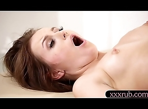 Hawt masseuse lesbian coitus to her purchaser