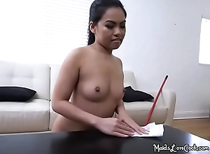 Exposed Young lady Cindy Starfall Receives Spied Upstairs Hard by Her Boss