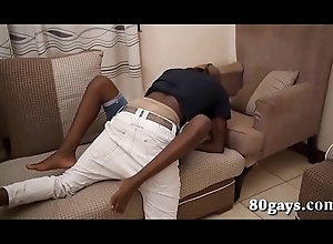 Africans Vic and Max Fuck Bareback