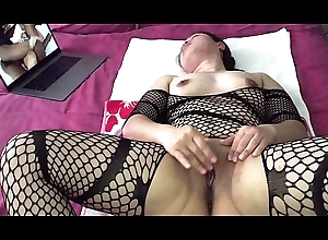 Oriental MILF - Pussy Effectuation Space fully Adhering Porn campo Nylons
