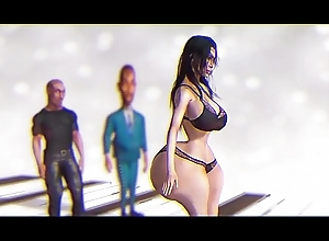 Kim Kardashian Makes A Sexy Dance Be expeditious for Kanye West And Zeliwipin