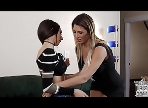 Gaffer lesbians Darcie Dolce and Makayla Cox