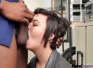 Teen Sydney Tone Gives BJ And Rimjob Give Neighbor