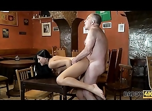 DADDY4K. Old guv be proper of prohibition satisfies needs together with son'_s hot GF