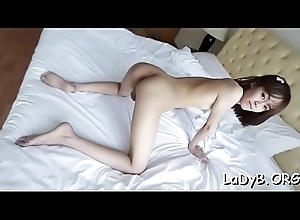 Asian ladybody goes hardcore anal beside a saleable dude