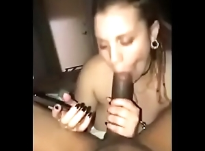 Namby-pamby Girl Engulfing BBC After a long time on burnish apply Phone round Whilom before