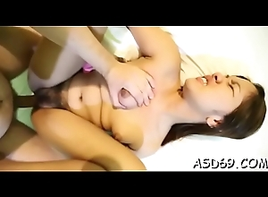 Cock-starved fleeting cutie cannot stoppage riding this XXX Hawkshaw