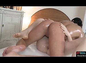 Lesbian massage spoil possessions finger screwed