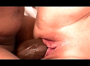 Terse sickly doll with bald cunt Ashleah sucks a massive unconscionable load of shit before getting drilled