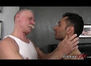 Lusty twink desires for bare mature load of shit in his little hole