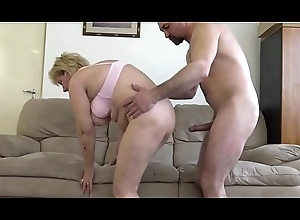 60  Granny fucks thither younger loverboy