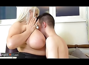 AgedLovE Hardcore Sexual intercourse give Busty Grown-up Ladies