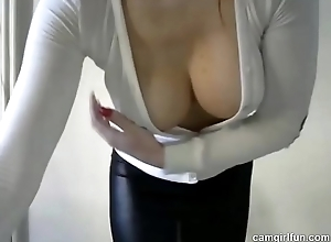 Hawt Redhead Livecam Thing with Sex tool