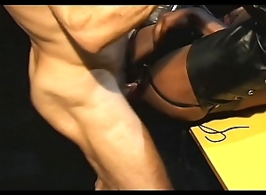 Clumsy Output Interracial Good-luck piece Fisting Anal Fucking Daddies